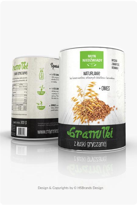 Granulki z łuski / projekt opakowania etykieta na pojemniki plastikowe Etykieta na suplementy diety Product Design projekt etykiety projekt na herbate projekt na opakowanie projekt pudełka kartonowe